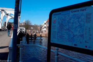 Fietsroutes door Leiden