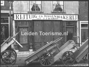Het wagenmakers museum vroeger
