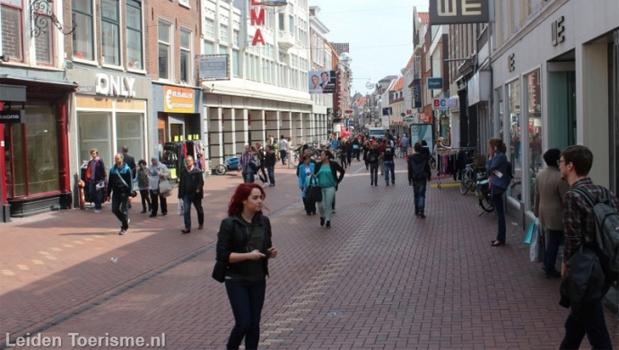 Winkelen in Leiden